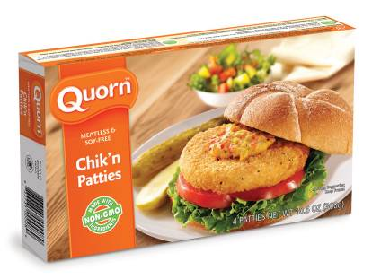 Meatless Chicken Patties