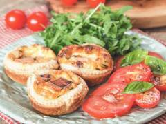 quorn mini quiche lorraine vegetarian recipe
