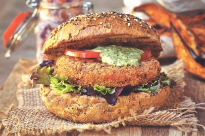quorn meatless vegan chipotle cutlet with pink slaw recipe