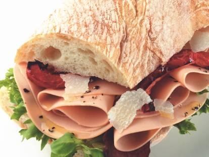 quorn vegetarian ham slices sandwich recipe