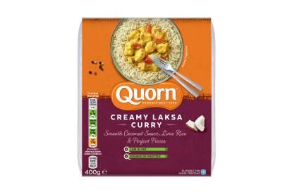 Quorn Creamy Laksa Curry