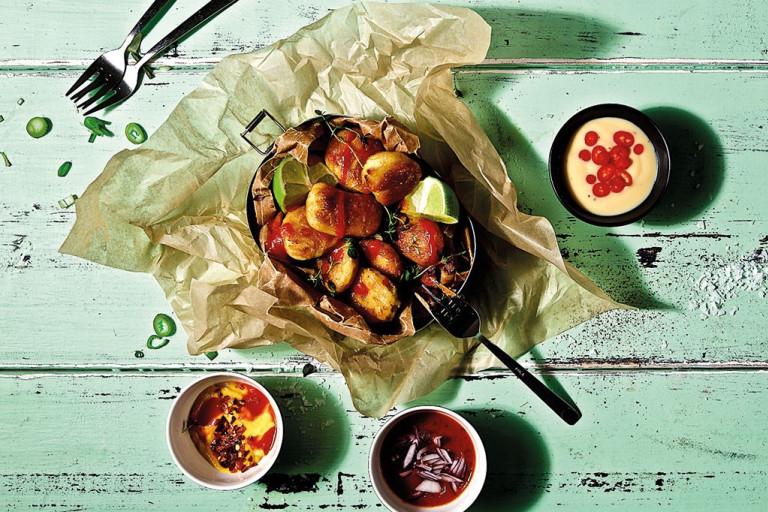 Nuggets, dipp, nuggets med dipp, quorn, vegetariskt, krämig dipp, enkelt, snabbt, recept.