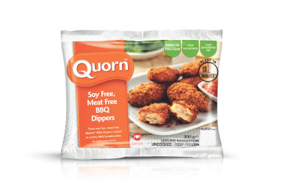 Soy free, Meat Free BBQ Dippers