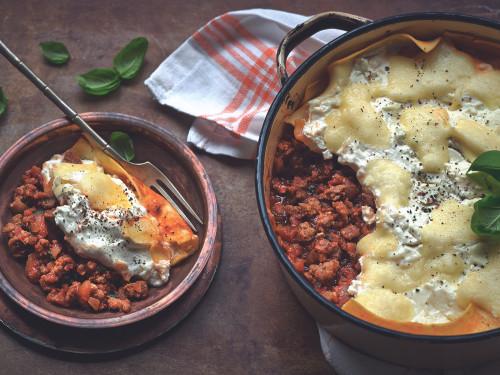 Quorn Quick & Easy One Pot Lasagne