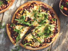 Barbeque-Pizza