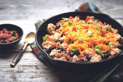 southwest hotpot with quorn pieces vegetarian recipe
