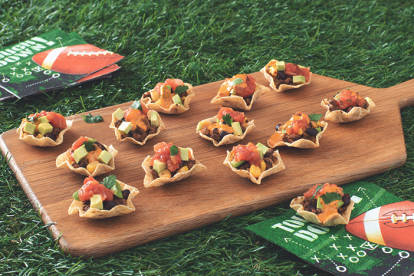 Vegetarian Mini Taco Bowls