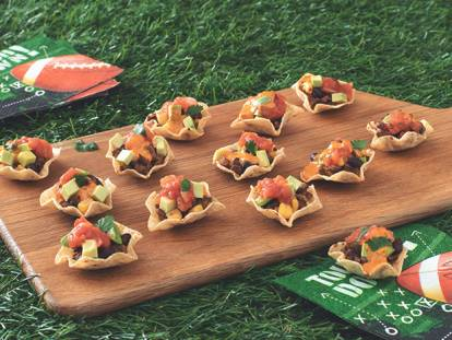 Vegetarian Mini Taco Bowls