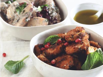 Vegan Moroccan Quorn Nuggets
