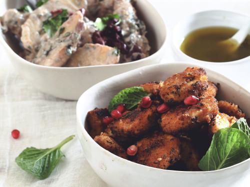 Moroccan Quorn Vegan Nuggets