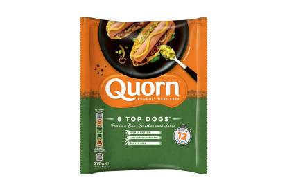 frozen meat free quorn hot dogs