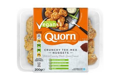 Quorn Vegan Crunchy Tex-Mex Nuggets
