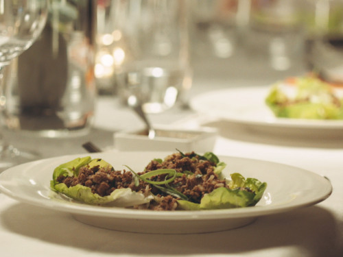 Quorn Spicy Laab Salad
