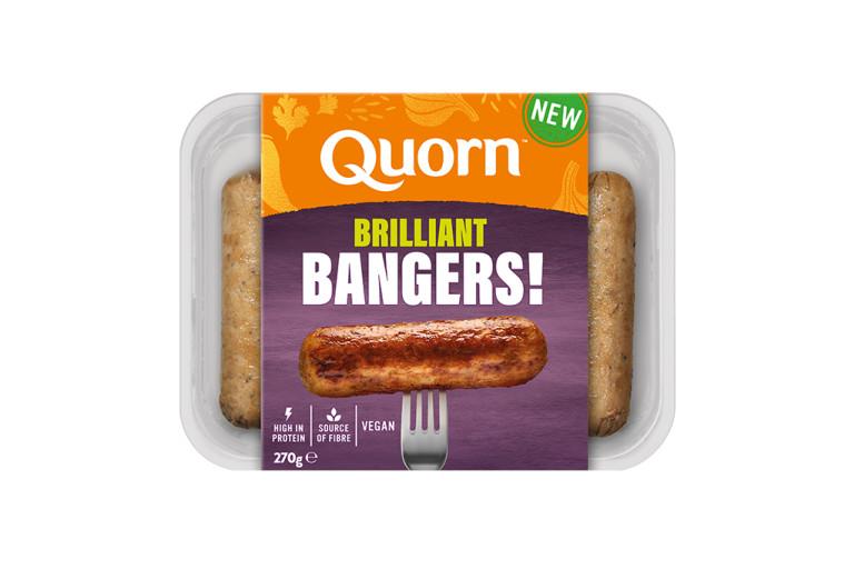 Quorn Brilliant Bangers - Vegan Sausages