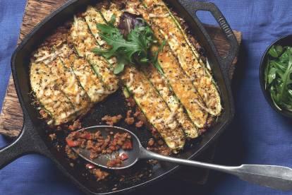 Vegetarischer Zucchini-Auflauf