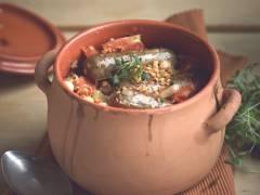 quorn sausage & white bean cassoulet vegetarian recipe