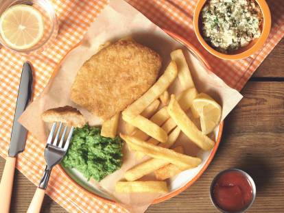 Quorn Vegan Fish and Chips