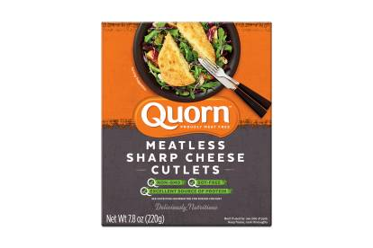 quorn meatless cheese cutlets