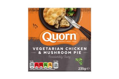 quorn vegetarian chicken & mushroom pie ready meal