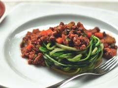 quorn courgetti bolognese vegetarian recipe