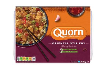 meat free quorn oriental stir fry ready meal