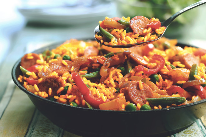 Quorn Meat Free Sausage Paella
