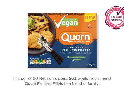 Quorn Battered Fishless Fillets