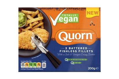 Quorn Battered Fishless Fillets