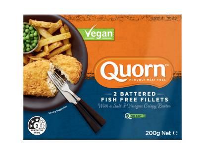 Quorn Vegan Battered Fish Free Fillets