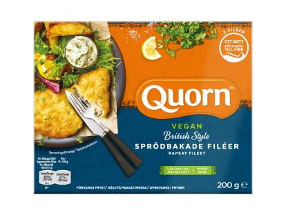 Quorn Vegan British Style Sprödbakade Filéer