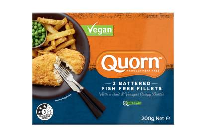 Quorn Vegan Battered Fish Free Fillets