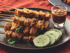 Quorn Meat-Free Inasal and Satay Skewers