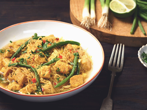 Laksa with Quorn Pieces
