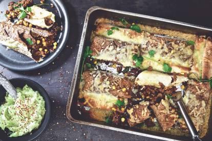 Vegetariska burritos med Quorn Färs