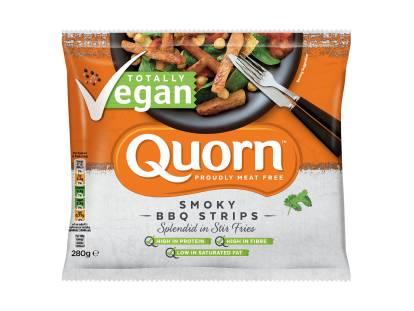 frozen quorn vegan bbq strips
