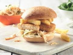 Vegan Fish & Chips Sandwich