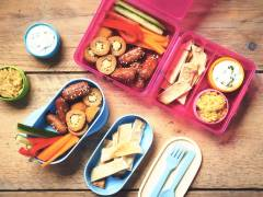 quorn mezze picnic lunch vegetarian recipe