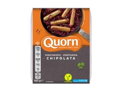 Quorn vegetarische chipolata's
