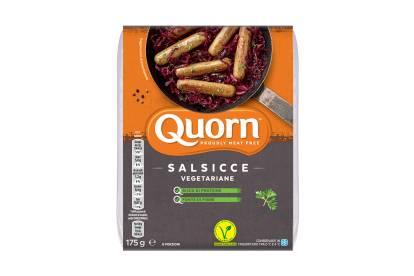Salsiccia Quorn vegetariana