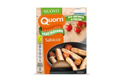Salsicce Quorn vegetariane