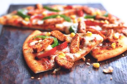 Mexican Pizza with Quorn Meat Free Pieces