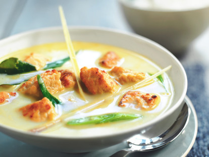 vegetarian thai green curry with quorn pieces recipe