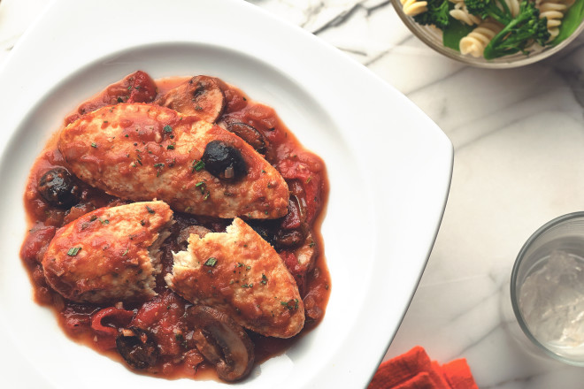 Quorn Meat Free Fillets Cacciatore