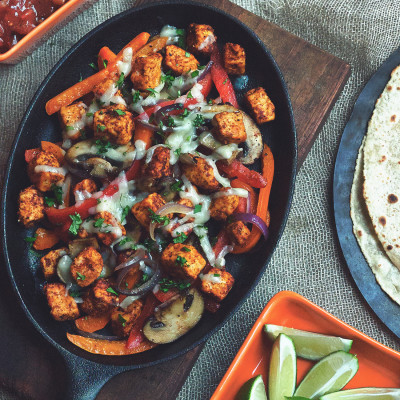 Gluten Free Fajitas with Quorn Pieces