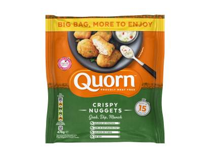 frozen meat free quorn crispy nuggets
