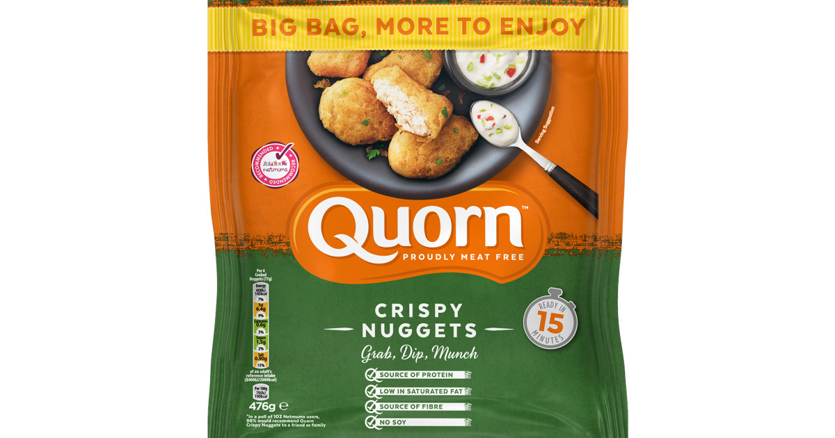 Meat Free Chicken Nuggets From Quorn