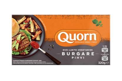 Quorn Ovo-Lakto-Vegetarisk Burgare