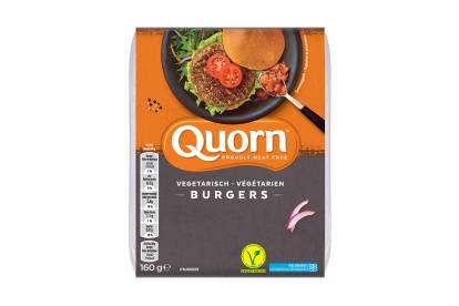 Quorn vegetarische burgers