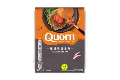 Burger Quorn vegetariano