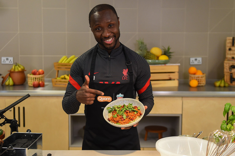 LFC Red Recipe - Chilli with Quorn Mince